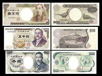 Japan - 2x 1.000, 5.000, 10.000 Yen - Ausgabe ND (1993-2003) - Reproduktion - 01