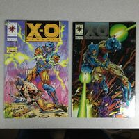 Valiant Comics 1993 X-O Manowar Vol 1 #14 & #0 Comic Books VF+