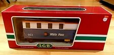 Vintage LGB G Scale White Pass Train Car No. 903 Drovers Caboose