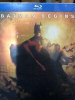 Batman Begins Steelbook Blu-Ray NEW