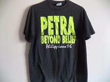 Vintage 90s PETRA PRAISE 1991 Beyond Belief World Tour Concert T-Shirt Large