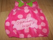 Infant Size 6-9 Months Sandra Magsamen Pink Strawberry Kisses Halloween Costume