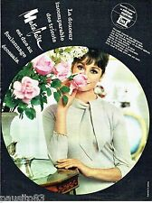 PUBLICITE ADVERTISING 116  1962  Marie Laine  tricots  Mérinos superior