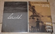 New Lot of 2 Extreme Sports Surfing DVD's Sliding Liberia and Lucid