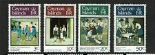 Cayman Is 1978 Girls Brigade SG 464/7 MNH