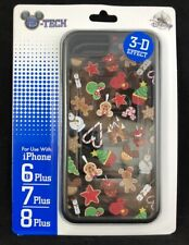 Disney iPhone 6s+ 7+ 8+ Plus Case Mickey Christmas Desserts Holiday Phone Case