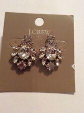 $29.50  J Crew cystal turtle earrings JC 113