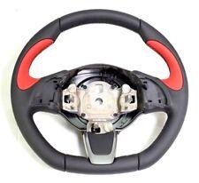 500 Abarth 2012-2017 Black & Red Leather Steering Wheel New & Genuine