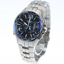 CASIO OCEANUS Manta OCW-S3400-1AJF Radio Wave Solar Men's Watch New in Box