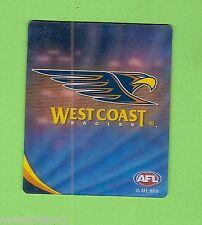 #D222. 2010 AFL  TAZO #74 WEST COAST EAGLES EMBLEM
