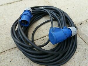 19 Metre 16 Amp Extension Cable Lead Cable Heavy Duty H07 RN-F 3G 2.5