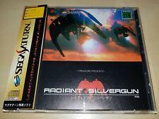 Sega Saturn Radiant Silvergun SHMUP 2D-Shooter JAPAN NTSC