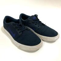 NIKE SB Youth Portmore Skateboarding Athletic Sneakers Dark Blue US 8 UK 7 EU 41