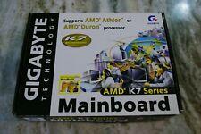 Gigabyte GA-7ZX Slot A Motherboard (KT133 Chipset, Original Packaging)