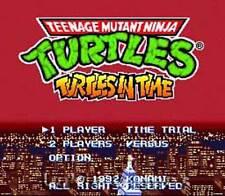 Teenage Mutant Ninja Turtles IV 4 Super Nintendo Game