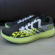 Skechers Go Run Razor 3 Hyper Black Lime Green Running Shoes 55290 Men's Size 8