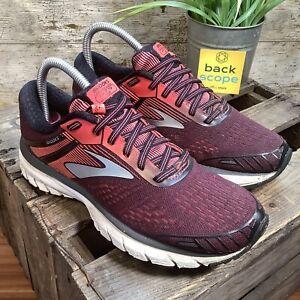 UK6 Brooks GTS 18 High End Comfort Running Trainers - Purple/Pink - Gym - EU39