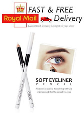 WHITE KOHL PENCIL EYELINER EYE LINER OPENS UP & MAKES EYES LOOK BIGGER NEW