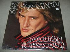 ROD STEWART Foolish Behaviour ORIG SEALED LP POSTER 1980 HS 3485 CARMINE APPICE