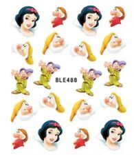 Snow White And The Seven Dwarfs Nail Art (water decals) Disney Nail Art Decals