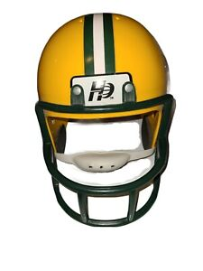 NFL Green Bay Packers Hutch Little Pro Youth Helmet euc