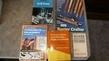 Lot of 5 Handyman Home Improvement Repair Books Formulas & Tips,Concrete,Masonry