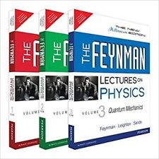 NEW The Feynman Lectures on Physics INT'L ed (Full 3 Volume Set) 3 Vol Bundle