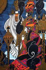 Anne Fish 1922 PERSIAN IRANIAN KING PRINCE and Servants Art Nouveau Deco Print