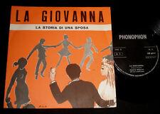 FRANCO TRINCALE CARTOON  P/S 45 - LA GIOVANNA  - ITALIAN  1960s