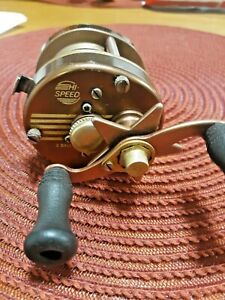 Vintage Pflueger Supreme Model CK  Baitcasting Reel - very nice super rare reel