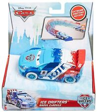 Disney Cars Ice Drifter 1:43 Scale Pullback Car Caroule Age 3+ Lightning Mcqueen