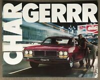 1977 Chrysler Charger original Australian sales brochure - 13/20954