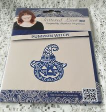 BRAND NEW RELEASE BY TATTERED LACE DIES - PUMPKIN WITCH - D1433