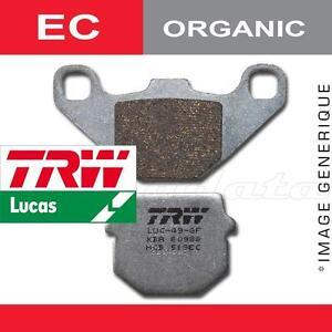 Plaquettes de frein Arrière TRW Lucas MCB 672 EC pour Husaberg FX 650 E 01-