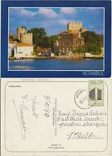 ISTANBUL - ANADOLU HISARI (TURCHIA) 1990 TO MESTRE ITALY
