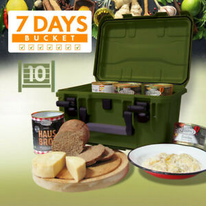 L@@K Emergency FAMILY VEHICLE SURVIVAL PREPPER RATION | 3 DAY | FOOD BUCKET !!