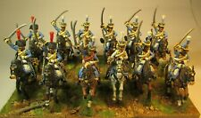 28mm painted Perry miniatures French Napoleonic 5th hussars
