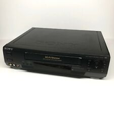 Sony Slv-N50 Vcr Vhs Player Recorder HiFi Stereo Tested Working
