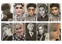 SuperM Version 2 Photocard Pop Up Store Postcard EXO NCT WAYV Shinee Fan Made