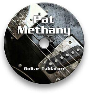 Pat Metheny Jazz Guitar Tab Tablature Lesson Software CD - Guitar Pro