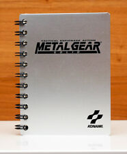 Gamestop Pre-Order Metal Gear Solid Aluminum Covered Memo Pad - Brand New