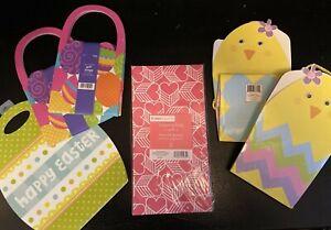 NEW! Huge LOT of (21) Hallmark VALENTINE'S DAY & EASTER Gift Favor BAGS & SACKS