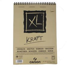 Canson XL Kraft A3 60 page Papier Marron Sketch Pad