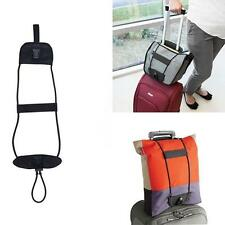 Travel Luggage Bag Bungee Suitcase Adjustable Belt Backpack Carrier Strap Easy