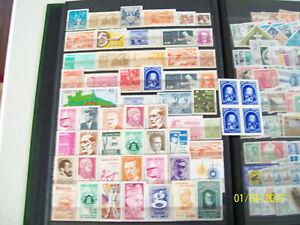59 Vintage MINT BRAZIL BRASIL Stamps Older Nice CV