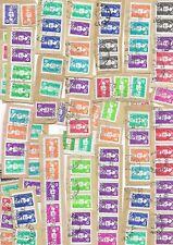 lot de 250 timbres sur fragment type marianne du bicentenaire pour étude à voir