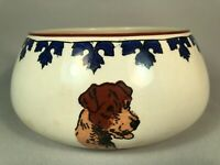 *SCARCE*  ROYAL DOULTON ROUND DOG BOWL SIGNED BY CECIL ALDIN, MULTIPLE TERRIERS