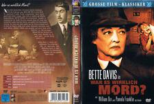 WAR ES WIRKLICH MORD? --- The Nanny --- Bette Davis --- Grosse Filmklassiker ---