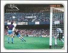 PANINI 1955-2005 CHAMPIONS OF EUROPE- #017-AC MILAN 4 STEAUA BUCURESTI 0-1988-89