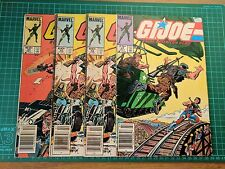 MARVEL COMICS VINTAGE US PRINT - 1984 G.I. JOE A REAL AMERICAN HERO #30 #32 #37